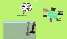 ¿Qué es Proyectos?