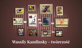 Wassily Kandinsky - twórczość
