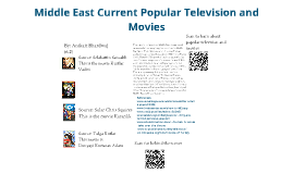 Middle East Current Popular Television and Movies