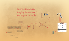 Enzyme Catalysis of Varying Amounts of Hydrogen Peroxide