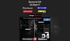 Copy of Sectorial D4 SEPTIEMBRE 2017