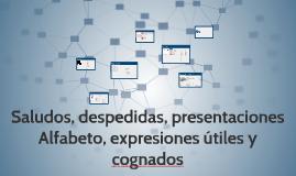 Copy of Saludos, despedidas, presentaciones