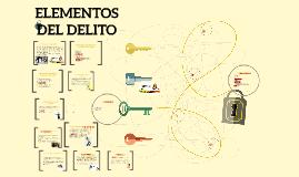 Copy of Teorías sobre los elementos del delito