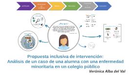 Propuesta inclusiva de intervención: análisis de un caso d