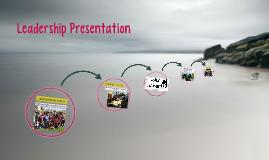 Leadership Portfolio Presentation