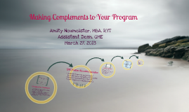032713 PDDS - Complement Changes