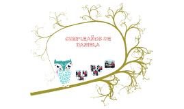 CUMPLEAÑOS DE