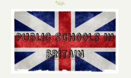 Public schools in british