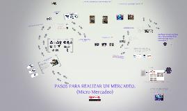 Copy of PASOS PARA REALIZAR UN MERCDEO EN TIENDA