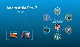 Adam Attia Per. 7