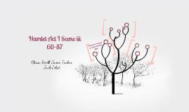 Hamlet Act I Scene iii 60-87