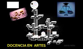 DOCENCIA EN  ARTES