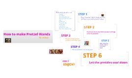 How to make Pretzel Wands