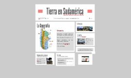 Tierra en Sudamérica