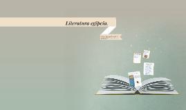 Literatura Egipcia.