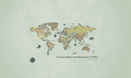 Copy of United States Involvement in WWI
