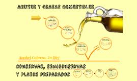 ACEITES Y GRASAS COMESTIBLES