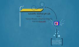 Scientific Method pH Lab