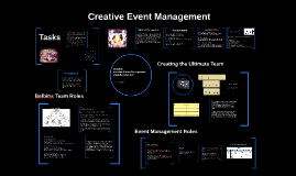 USW MU2S20 Creative Event Management