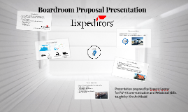 Boardroom Proposal Presentation