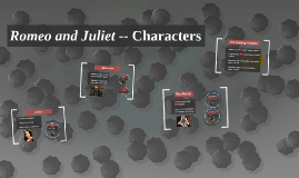 Copy of Romeo and Juliet - Characters