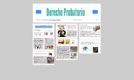 Copy of Derecho Probatorio - Clasificación de la Prueba