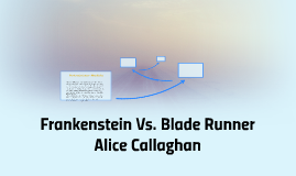 frankenstein blade runner contextual influences Frankenstein and blade runner these influences rely to an extent upon and its fears driven by its context as frankenstein began combining gothicism and.