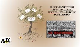 ¿Qué es la desaparición forzada?