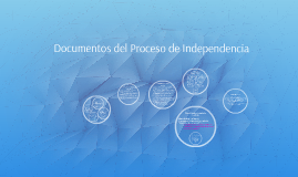 Documentos del Proceso de Independencia