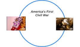America's First Civil War