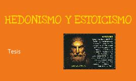 Hedonismo y Estoicismo
