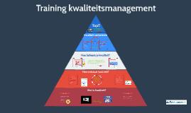Training kwaliteit