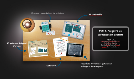 PEC 3: Proyecto de participación docente
