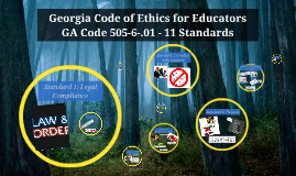 Georgia Code of Ethics - Grigsby