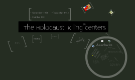 The Holocaust  - Killing Centers (ND)