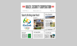 Brazil Security Cooperation