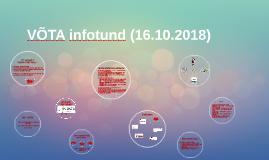 VÕTA infotund_16.10.2018