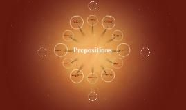 {Prepositions}