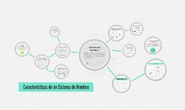 Características de un Sistema de Bombeo