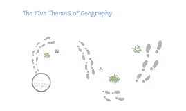 Themes of Geography 2