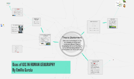 Copy of GIS USES IN HUMAN GEOGRAPHY