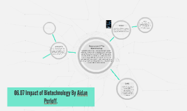 06.07 Impact of Biotechnology By Aidan Perloff.