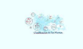 Copy of Clasificacion de las Plantas