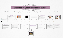 Copy of Extended Project Qualification 2013-14