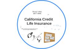 California Credit Life Insurance