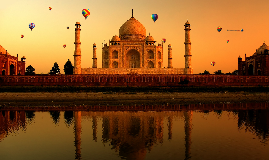 Copy of Taj Mahal ballons