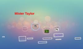Míster Taylor