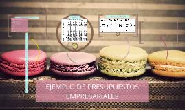Copy of EJEMPLO DE PRESUPUESTOS EMPRESARIALES