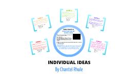 Individual Ideas