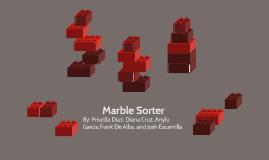 Marble Sorter